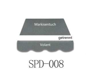 4 x 3m Markisentuch SPD008