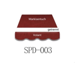 3,5 x 2 m Markisentuch SPD006