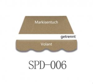 4,5 x 3m Markisentuch SPD006
