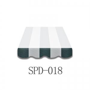 4 Meter Markisenbespannung nur Volant SPD-018