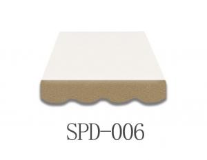 4 Meter Markisenbespannung nur Volant SPD-006