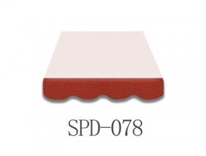 3 Meter Markisenbespannung nur Volant SPD-078