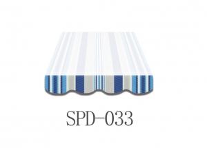 3,5 Meter Markisenbespannung nur Volant SPD-033