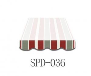 5,5 Meter Markisenbespannung nur Volant SPD-036