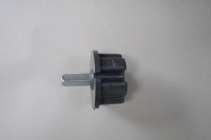 Markisenkapsel Wellenkapsel Eckige Tuchrolle-Achse 70mm Schwarz