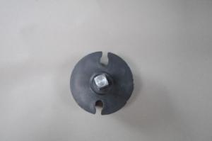 Markisenkapsel Wellenkapsel Eckige Tuchrolle-Achse 60mm Schwarz