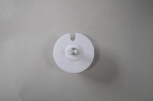 Markisenkapsel Wellenkapsel Runde Tuchrolle-Achse 60mm Weiss