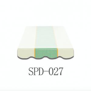 3 Meter Markisenbespannung nur Volant SPD-027