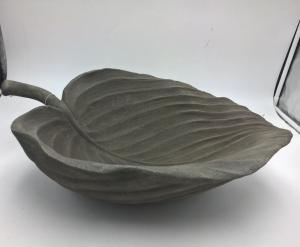 Blatt Vogelhäuschen (B/T/H)  49,5 x 36 x 14,5 cm