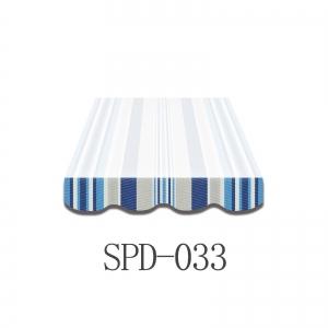 3 Meter Markisenbespannung nur Volant SPD-033