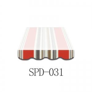 3 Meter Markisenbespannung nur Volant SPD031