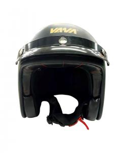 VANA-181 Motorradhelm Rollerhelm OpenFace Helmet Matt Schwarz in Größe 59/60cm