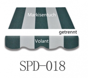 4 x 3m Markisentuch SPD018