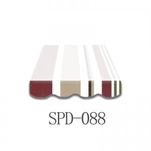3 Meter Markisenbespannung nur Volant SPD-088