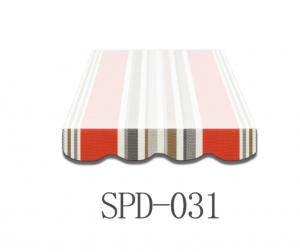 6 Meter Markisenbespannung nur Volant SPD-031