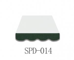 4 Meter Markisenbespannung nur Volant SPD-014