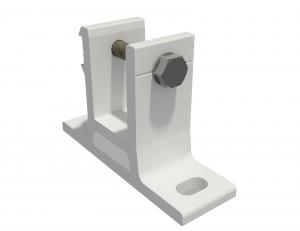 Wandhalterung für Markise 35mm SPP058 Weiß