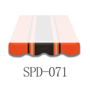6 Meter Markisenbespannung nur Volant SPD-071