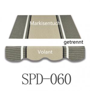 6 Meter Markisenbespannung nur Volant SPD-060