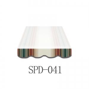 4 Meter Markisenbespannung nur Volant SPD-041