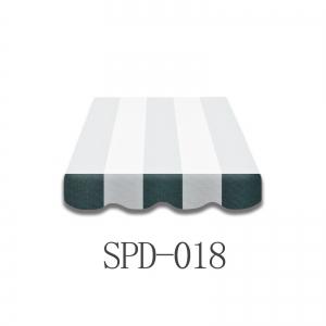 3 Meter Markisenbespannung nur Volant SPD-018