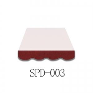 4,5 Meter MArkisenbespanung nur Volant SPD-003