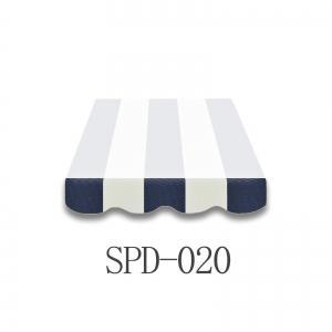 4 Meter Markisenbespannung nur Volant SPD-020