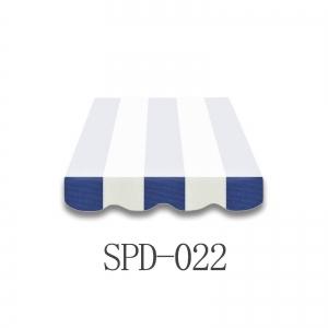 4 Meter Markisenbespannung nur Volant SPD-022
