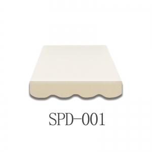 4 Meter Markisenbespannung nur Volant SPD-001