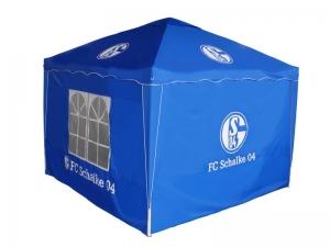 Pavillon FC Schalke 04 mit Tragetasche