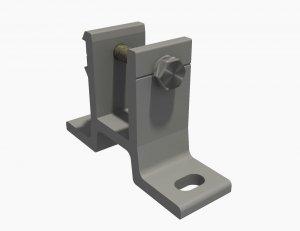 Wandhalterung für Markise 40mm SPP058 Grau